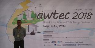 Ben McGilton at AWTEC 2018