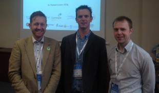 Simon Robertson : Dr. Nick Baker : Dr Richard Crozier at e-Drive IAB2018